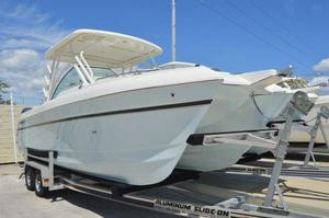 New World Cat 2740 Glacier Bay Edition Power Catamaran Boat For Sale