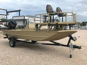 Used Lowe Roughneck 1860 Archer Jon Boat For Sale