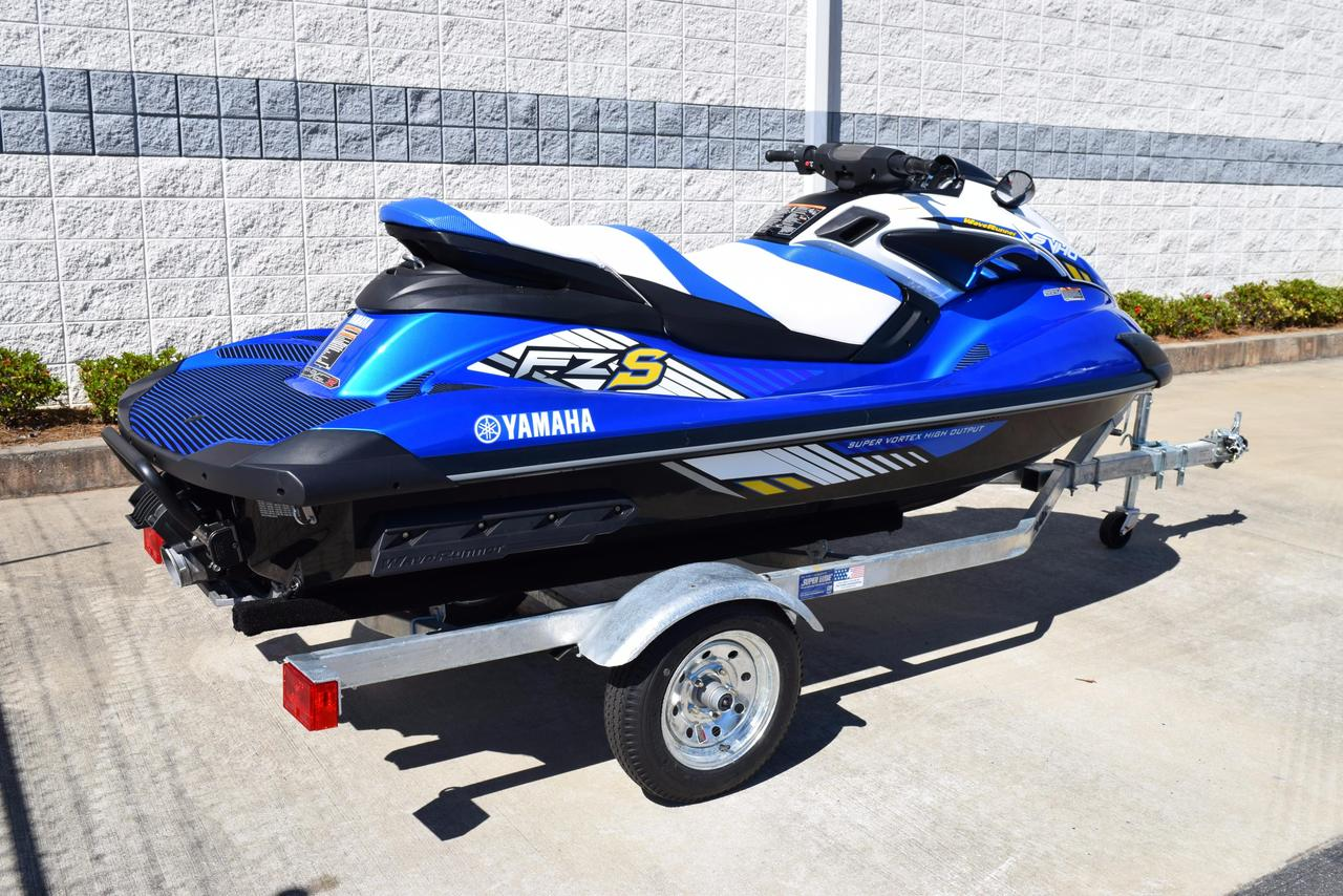 2016 used yamaha fzs personal watercraft for sale. Black Bedroom Furniture Sets. Home Design Ideas