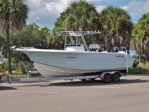 Used Sea Fox 28 open Center Console Fishing Boat For Sale