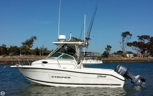 Used Seaswirl 2101 WA Striper Walkaround Fishing Boat For Sale
