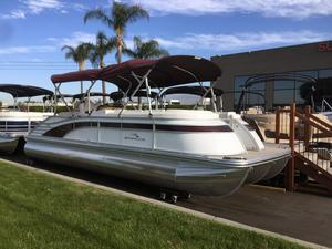 New Bennington 25 QCW I/O Pontoon Boat For Sale