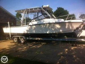 Used Mako 258 Walkaround Fishing Boat For Sale