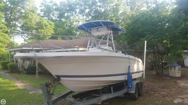 Used Wellcraft 220 O/B Center Console Fishing Boat For Sale