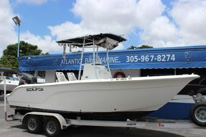 Used Sea Fox 216 Center Console Saltwater Fishing Boat For Sale