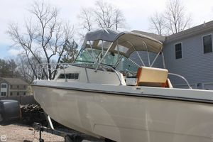 Used Wellcraft Airslot 24 Walkaround Fishing Boat For Sale