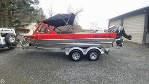 Used Thunderjet 20 Luxor Aluminum Fishing Boat For Sale