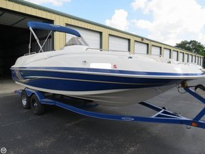 Used Tahoe 225 Deck Boat For Sale