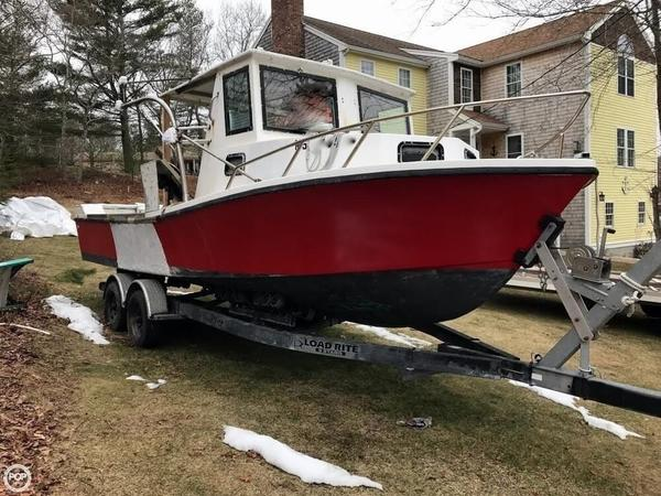 Used Privateer Renegade 24 Downeast Fishing Boat For Sale