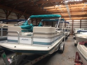 Used Hurricane 226R Funship Deck Boat For Sale