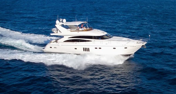 Used Princess Yachts Viking Sport Cruisers By Princess Flybridge Boat For Sale