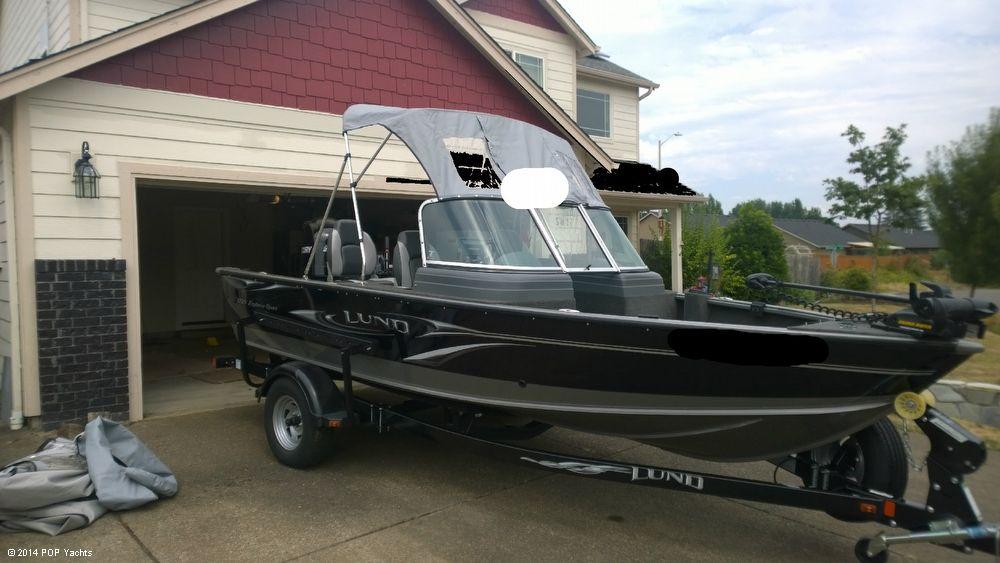 2010 used lund 1725 explorer aluminum fishing boat for for Used lund fishing boats for sale