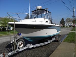 Used Sea Fox 216 WA Walkaround Fishing Boat For Sale
