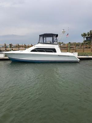 Used Mainship 40 Sedan Bridge Convertible Fishing Boat For Sale