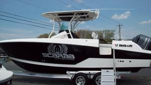 New Wellcraft 262 Scarab Fisherman Center Console Fishing Boat For Sale