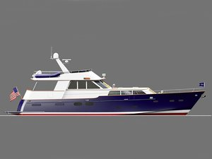 New Heritage Newport 78 Cruiser Flybridge Boat For Sale