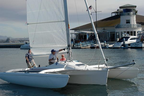 Used Corsair Sprint 750 Racer Sailboat For Sale