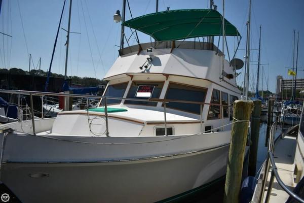 Used Ocean Yachts Flying Bridge Trawler 42 Trawler Boat For Sale