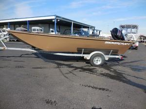 Used Smokercraft 1866 Sportsman Aluminum Fishing Boat For Sale