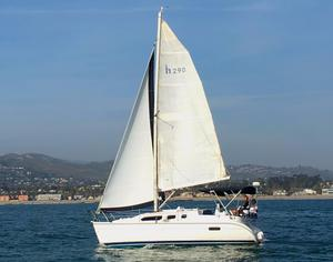 Used Hunter 290 Cruiser Sailboat For Sale