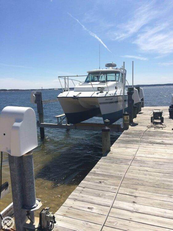 Used Glacier Bay Coastal Runner 2685 Special Power Catamaran Boat For Sale