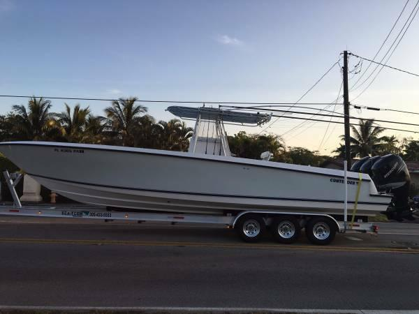 Used Contender 36 Open Saltwater Fishing Boat For Sale