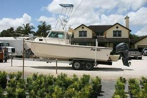 Used Parker 2320 SL Sport Cabin Saltwater Fishing Boat For Sale