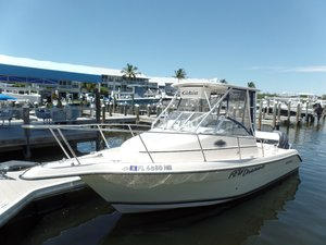 Used Cobia Boats 250 Walkaround Fishing Boat For Sale