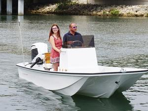 New Metan Davenport 17 Center Console Fishing Boat For Sale