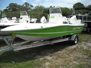 New Epic 21SC Center Console Fishing Boat For Sale