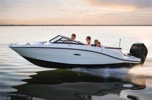 New Sea Ray 19 SPX Outboard Sports Cruiser Boat For Sale