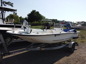 Used Key West SK 166 Flats Fishing Boat For Sale