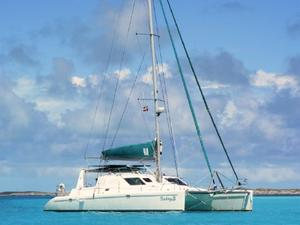 Used Voyage Yachts 440 Owner's Version Catamaran Sailboat For Sale