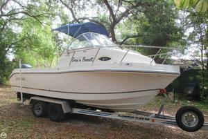 Used Polar 2100 Walkaround Fishing Boat For Sale