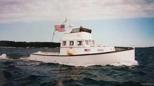 Used Novi 36' CUSTOM Downeast Fishing Boat For Sale