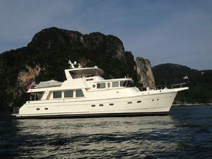 Used Selene 66 Flybridge Trawler Boat For Sale