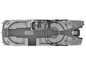 New Aqua Patio AP 250 Express Pontoon Boat For Sale