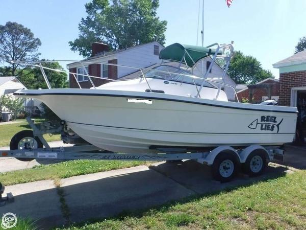 Used Trophy 2002 WA Walkaround Fishing Boat For Sale
