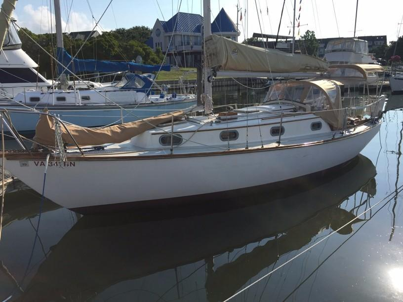 1982 used cape dory 30 cutter sailboat for sale