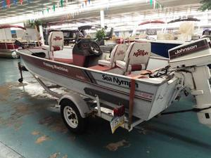 Used Sea Nymph FM161 Freshwater Fishing Boat For Sale