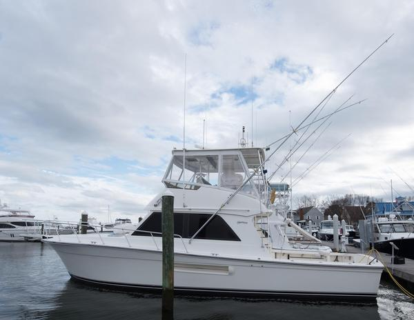 Used Henriques 44 Sportfisherman Saltwater Fishing Boat For Sale