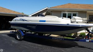 Used Starcraft Starstep 220 Deck Boat For Sale