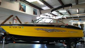 Used Monterey 184fs Bowrider Boat For Sale