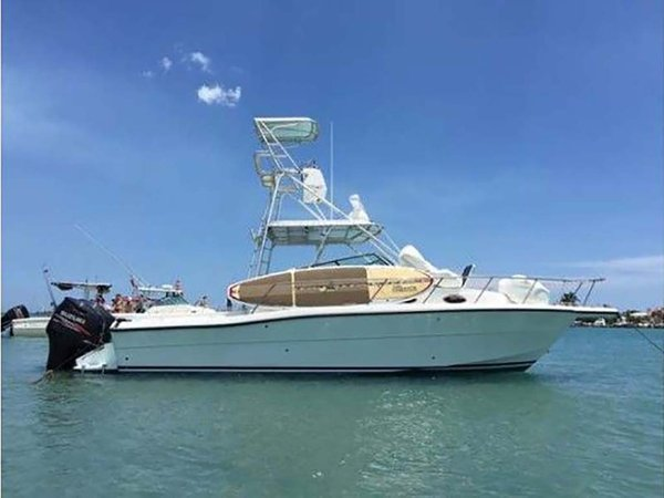 Used Stamas Expess Cuddy Cabin Boat For Sale