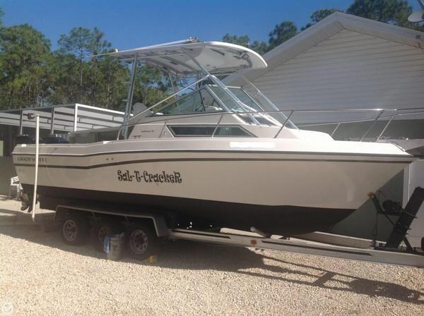 Used Grady-White 232 Gulfstream Walkaround Fishing Boat For Sale