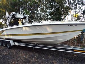 Used Condor 30 Open Fish Center Console Fishing Boat For Sale
