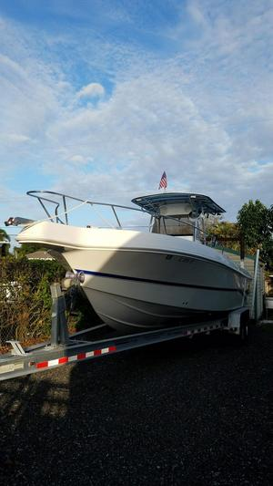 Used Caravelle 30 Center Console Fishing Boat For Sale