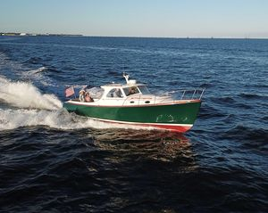 Used Hinckley 36 Picnic Boat Classic Downeast Fishing Boat For Sale