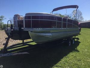 Used Berkshire 233 SLX Pontoon Boat For Sale