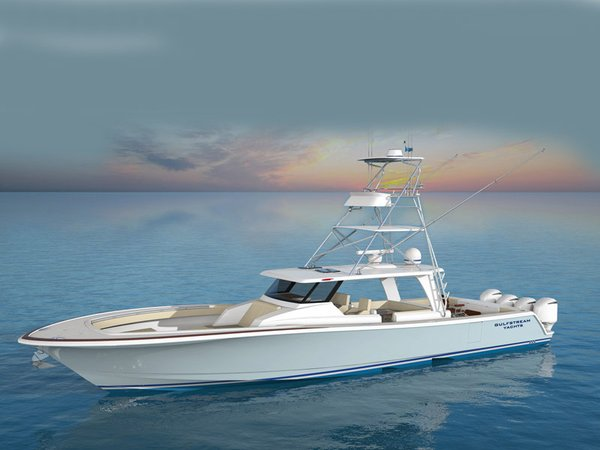 New Gulfstream Yachts TE Center Console Fishing Boat For Sale